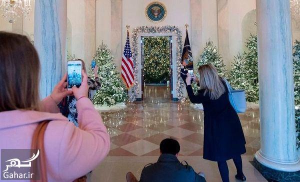 612288 Gahar ir عکسهای تزئین کاخ سفید برای کریسمس 2018