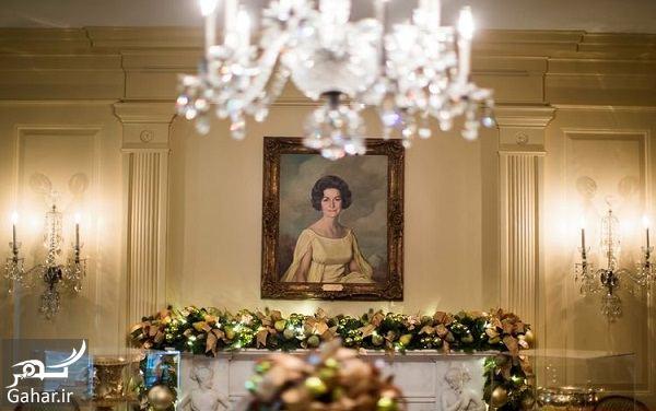 614353 Gahar ir عکسهای تزئین کاخ سفید برای کریسمس 2018