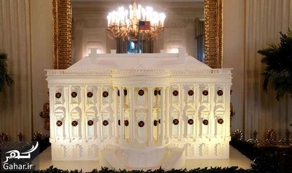 634215 Gahar ir عکسهای تزئین کاخ سفید برای کریسمس 2018