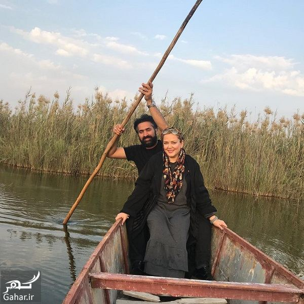 641748 Gahar ir عکسهای عاشقانه و احساسی بهاره رهنما و همسرش در قایق!
