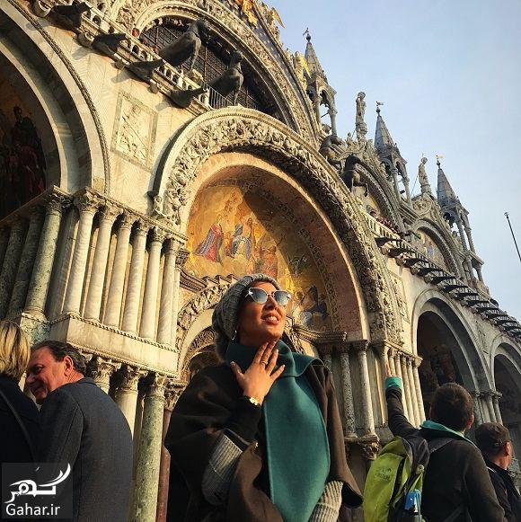 642626 Gahar ir عکسهای ونیز گردی لیلا بلوکات در ایتالیا