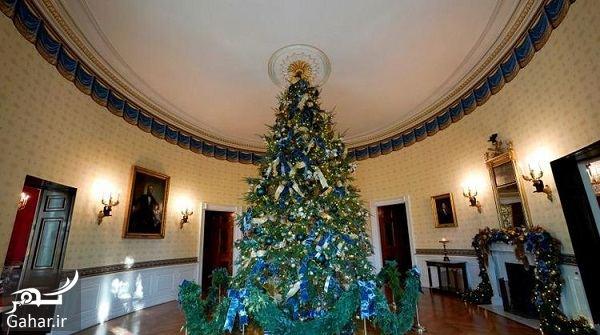 643538 Gahar ir عکسهای تزئین کاخ سفید برای کریسمس 2018