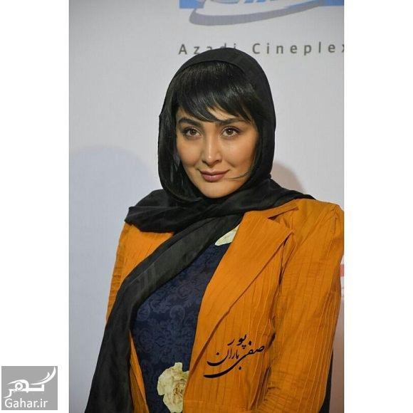 649136 Gahar ir عکسهای مریم معصومی در اکران فیلم خالتور با تیپ و مدل موی متفاوت