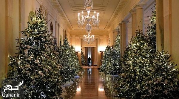 696128 Gahar ir عکسهای تزئین کاخ سفید برای کریسمس 2018