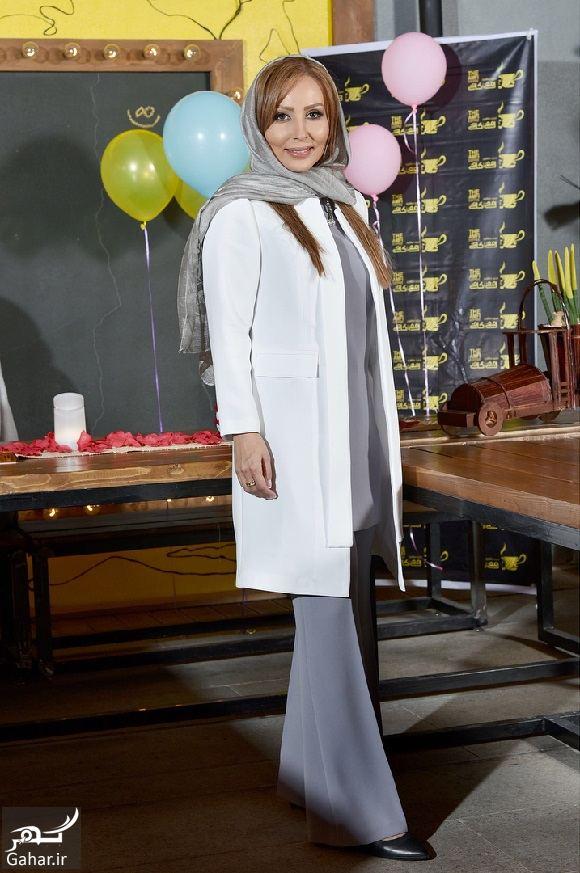 714483 Gahar ir عکسهای تولد 40 سالگی پرستو صالحی با مهمانان شاخص در آمفی کافه