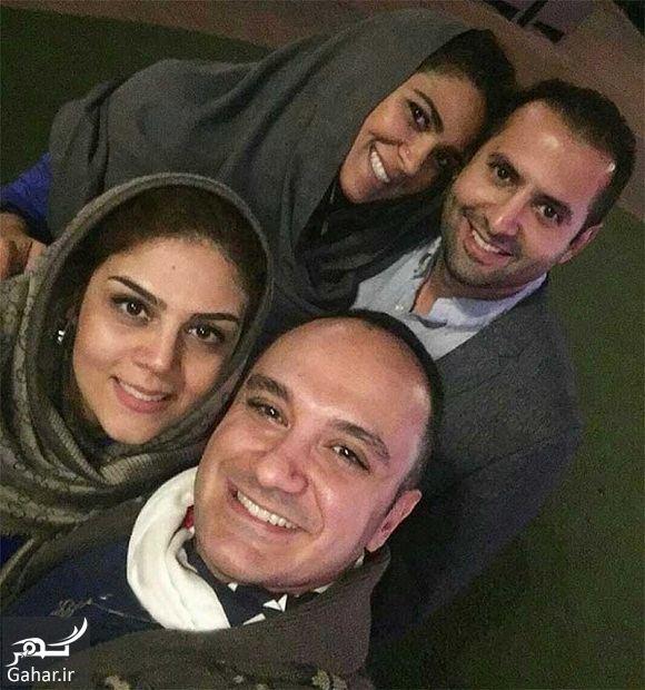 720344 Gahar ir عکس سلفی احسان کرمی و همسرش