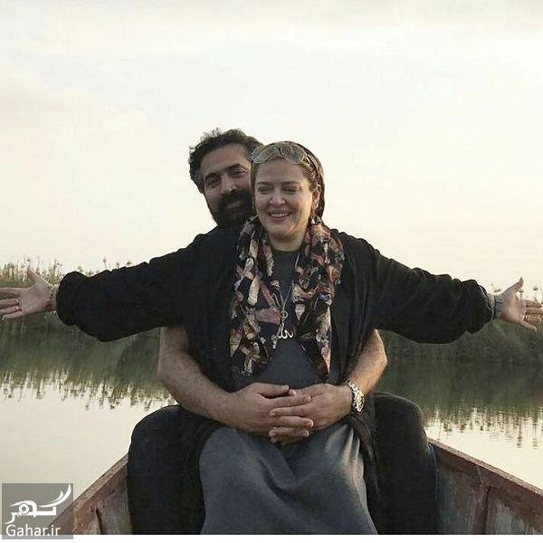 787394 Gahar ir عکسهای عاشقانه و احساسی بهاره رهنما و همسرش در قایق!