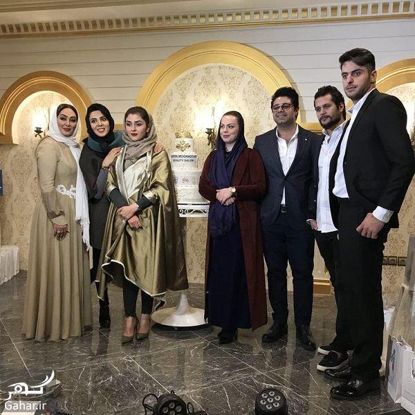 848925 Gahar ir عکسهای جدید بازیگران با استایل متفاوت در افتتاحیه یک سالن زیبایی