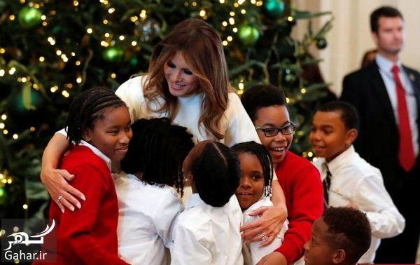 855451 Gahar ir عکسهای تزئین کاخ سفید برای کریسمس 2018