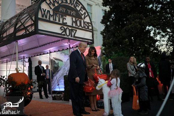917370 Gahar ir عکسهای ترامپ و همسرش در جشن هالووین 2017
