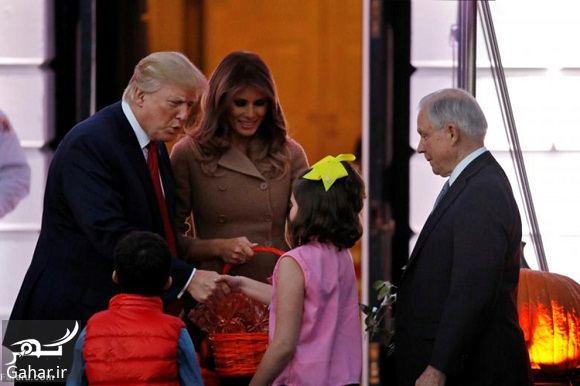 919640 Gahar ir عکسهای ترامپ و همسرش در جشن هالووین 2017