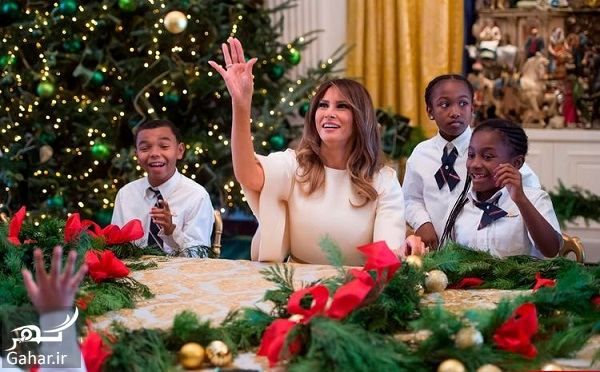 928259 Gahar ir عکسهای تزئین کاخ سفید برای کریسمس 2018