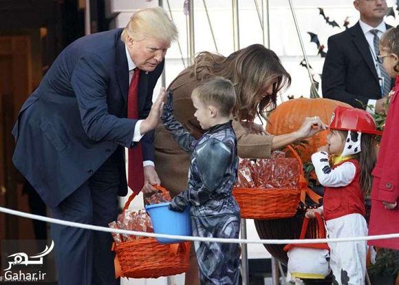 953061 Gahar ir عکسهای ترامپ و همسرش در جشن هالووین 2017