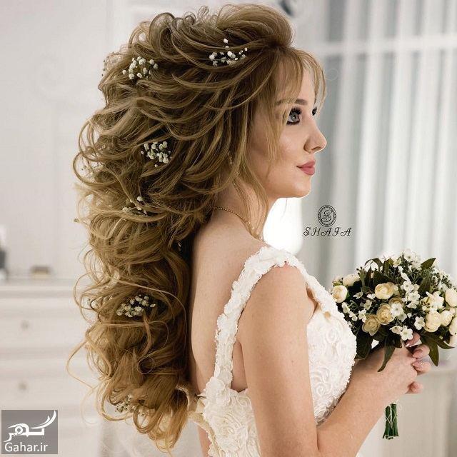 956776 Gahar ir جدیدترین مدل های زیبای شینیون موی بلند عروس