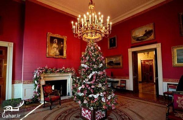 960333 Gahar ir عکسهای تزئین کاخ سفید برای کریسمس 2018