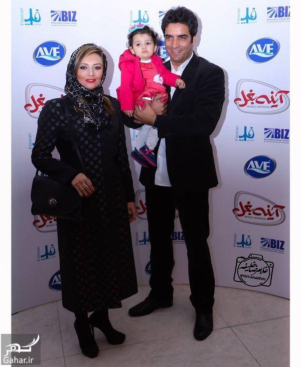 029800 Gahar ir جشن تولد دختر یکتا ناصر و منوچهر هادی در اکران خصوصی آینه بغل / تصاویر
