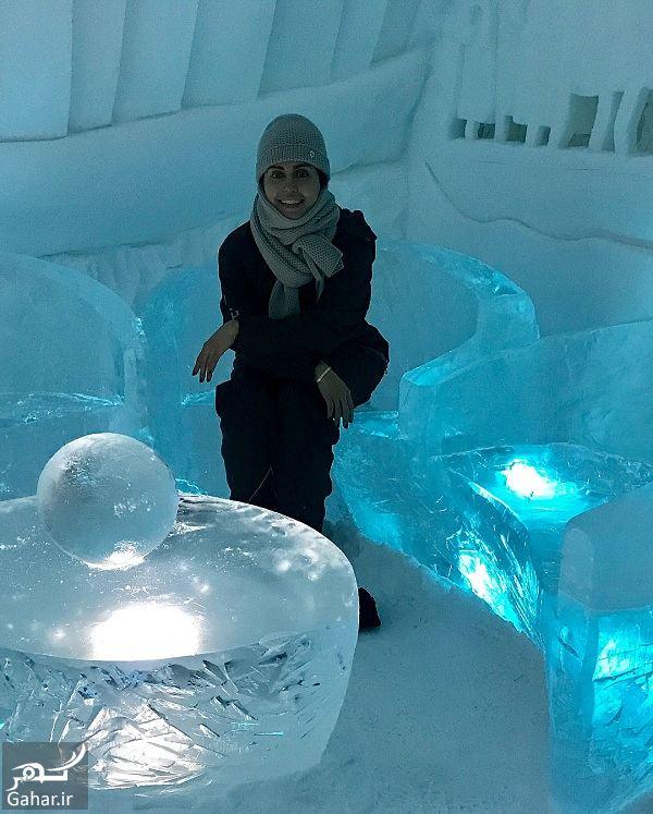 046023 Gahar ir عکسهای جالب و دیدنی الناز شاکردوست در قطب شمال
