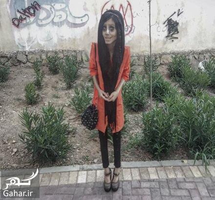 124186 Gahar ir عکسها و بیوگرافی سحر تبر دختر وحشتناک اینستاگرامی!