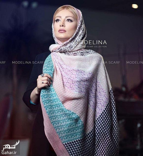 200558 Gahar ir سحر قریشی مدل تبلیغاتی شال و روسری شد / تصاویر