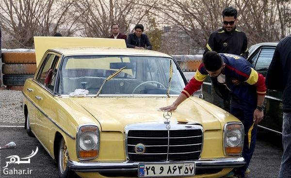 209490 Gahar ir دورهمی زیبا و دیدنی خودروهای کلاسیک در تهران / تصاویر