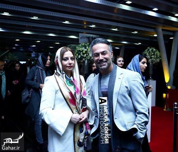 217335 Gahar ir عکس جدید دانیال حکیمی و همسرش در اکران خصوصی حریم شخصی
