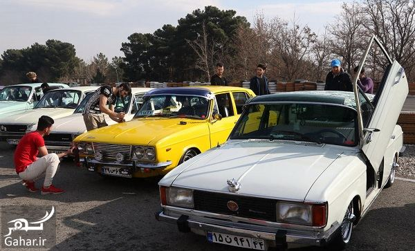 239130 Gahar ir دورهمی زیبا و دیدنی خودروهای کلاسیک در تهران / تصاویر