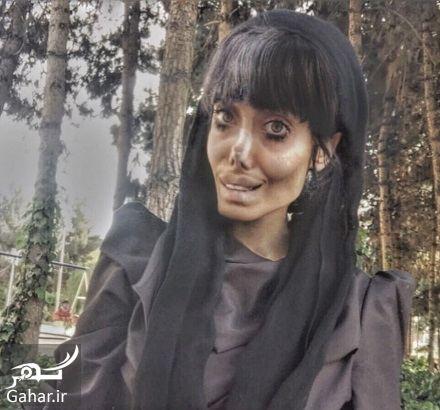 255307 Gahar ir عکسها و بیوگرافی سحر تبر دختر وحشتناک اینستاگرامی!