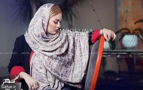 273665 Gahar ir سحر قریشی مدل تبلیغاتی شال و روسری شد / تصاویر
