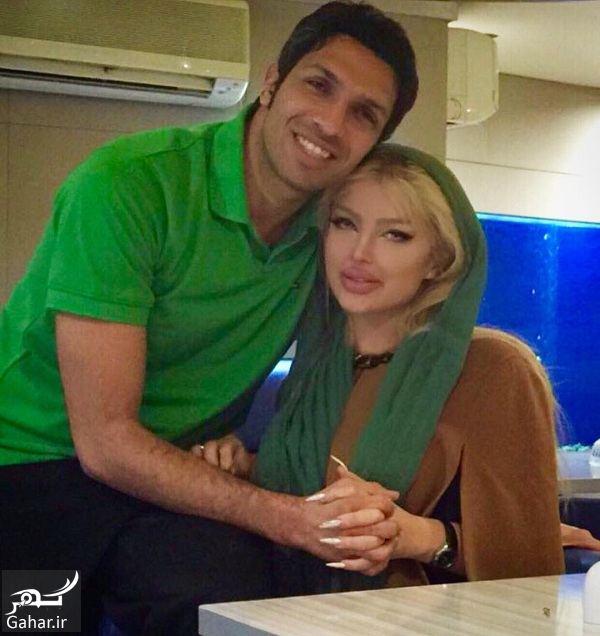 290463 Gahar ir عکس عاشقانه بازیکن سابق پرسپولیس و همسرش