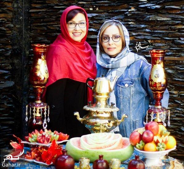 294980 Gahar ir عکسهای جدید بازیگران در شب یلدا 96