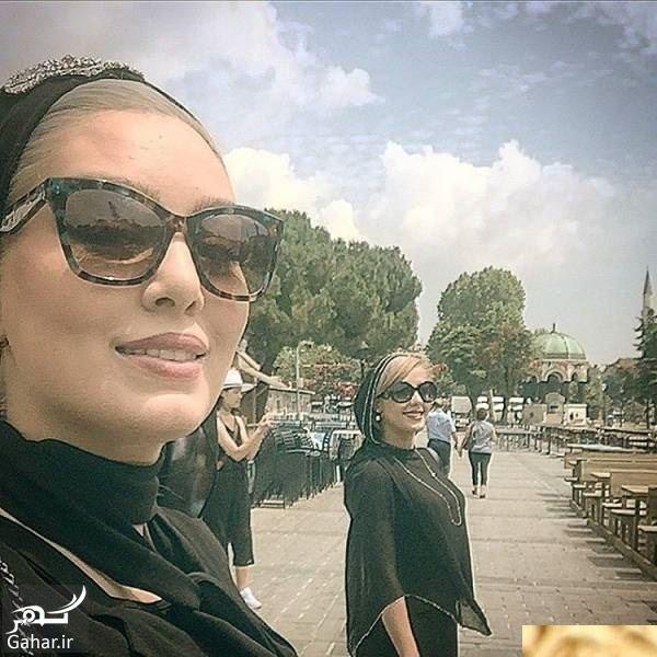 347702 Gahar ir سحر قریشی در ترکیه با تیپ متفاوت + عکس