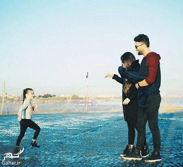 401905 Gahar ir تصاویر دیدنی بنیامین بهادری و همسر و دخترش