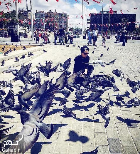 420729 Gahar ir سحر قریشی در ترکیه با تیپ متفاوت + عکس