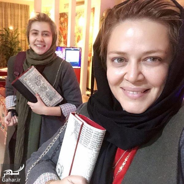 440988 Gahar ir سلفی جدید و متفاوت بهاره رهنما و دخترش پریا قاسم خانی/ عکس