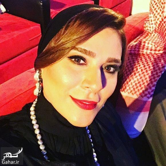 576414 Gahar ir تیپ و آرایش متفاوت سحر دولتشاهی در فستیوال دبی