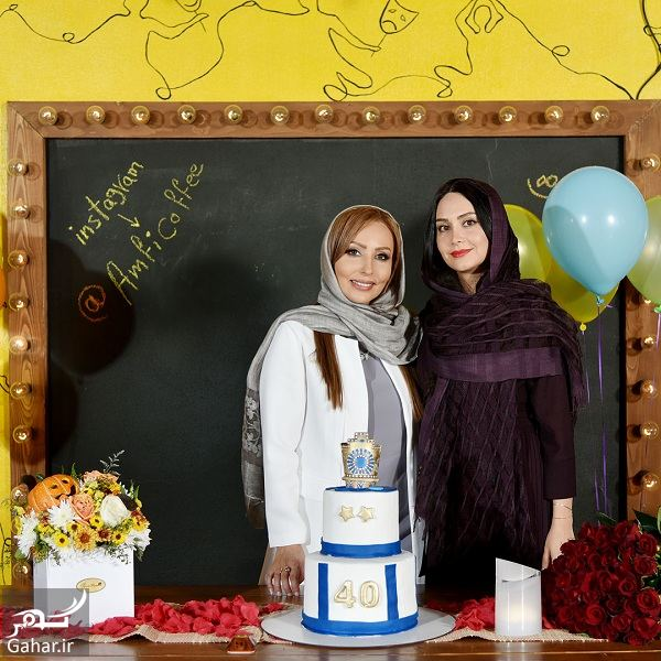 676496 Gahar ir عکسهای جشن تولد جذاب و دیدنی پرستو صالحی با حضور هنرمندان