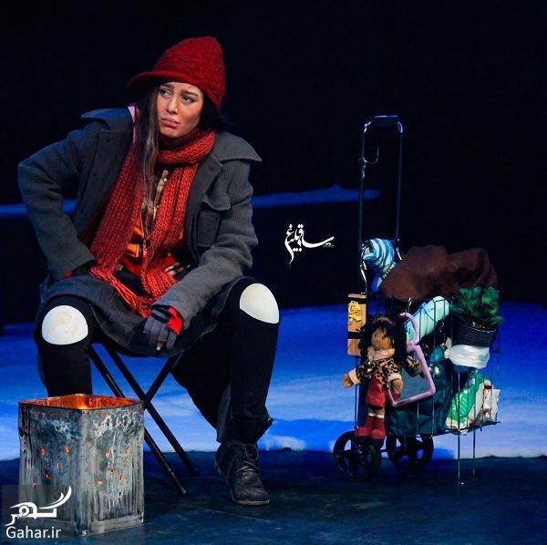 768367 Gahar ir تیپ و گریم جالب سحر قریشی در تئاتر لامبورگینی 2 / عکس