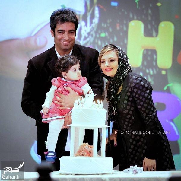 826044 Gahar ir جشن تولد دختر یکتا ناصر و منوچهر هادی در اکران خصوصی آینه بغل / تصاویر