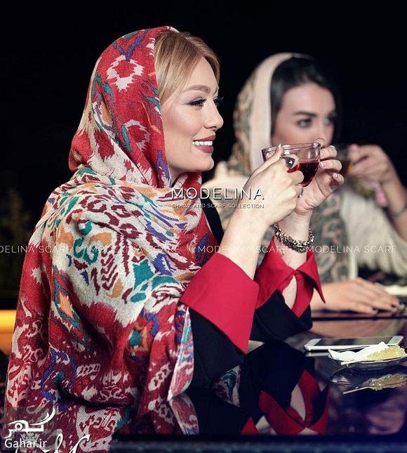 855543 Gahar ir سحر قریشی مدل تبلیغاتی شال و روسری شد / تصاویر