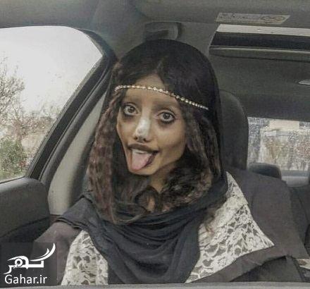 880104 Gahar ir عکسها و بیوگرافی سحر تبر دختر وحشتناک اینستاگرامی!