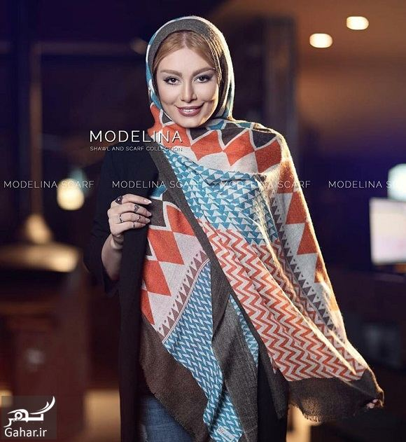 920381 Gahar ir سحر قریشی مدل تبلیغاتی شال و روسری شد / تصاویر