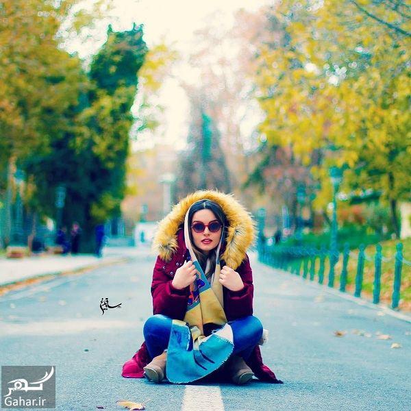 933445 Gahar ir عکسهای جدید و زیبای نیلوفر پارسا با استایل پاییزی