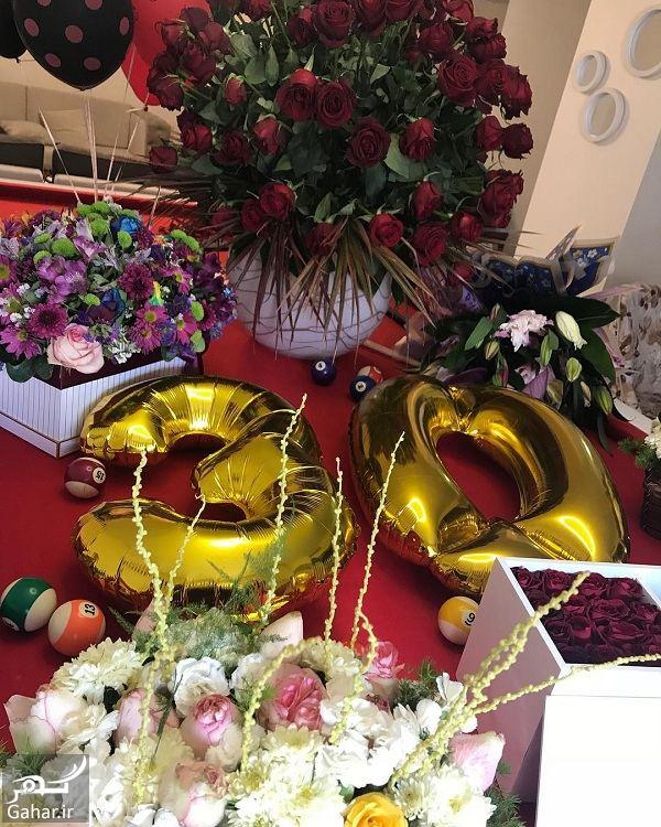 963677 Gahar ir سحر قریشی 30 ساله شد + عکس جشن تولدش