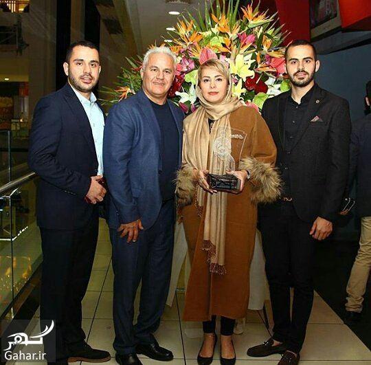 057571 Gahar ir عکس بازیکن معروف و سابق پرسپولیس در کنار همسر و پسرانش