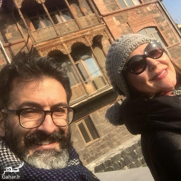 067219 Gahar ir عکسهای دیدنی لاله اسکندری و همسرش در کشور ارمنستان