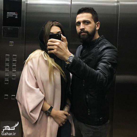 074806 Gahar ir محسن افشانی همچنان عکس همسرش را سانسور می کند!