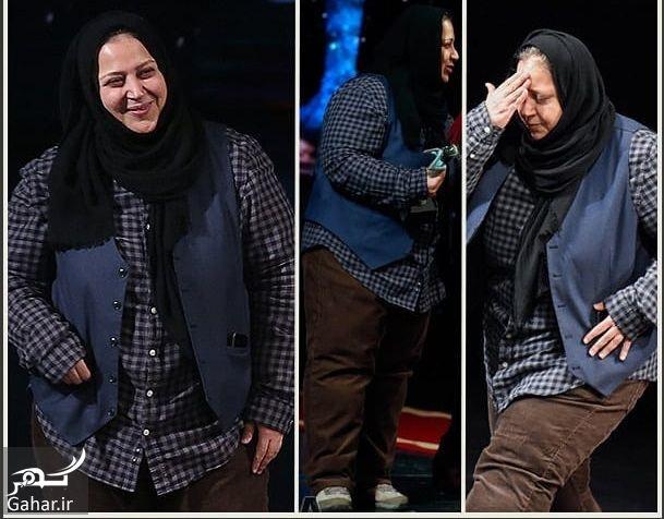 081969 Gahar ir تیپ مردانه بازیگر زن در اختتامیه تئاتر فجر / عکس