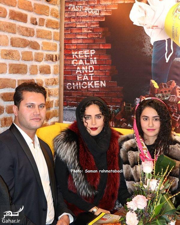 093188 Gahar ir عکسهای زیبای الناز شاکردوست در افتتاحیه رستوران برادرش