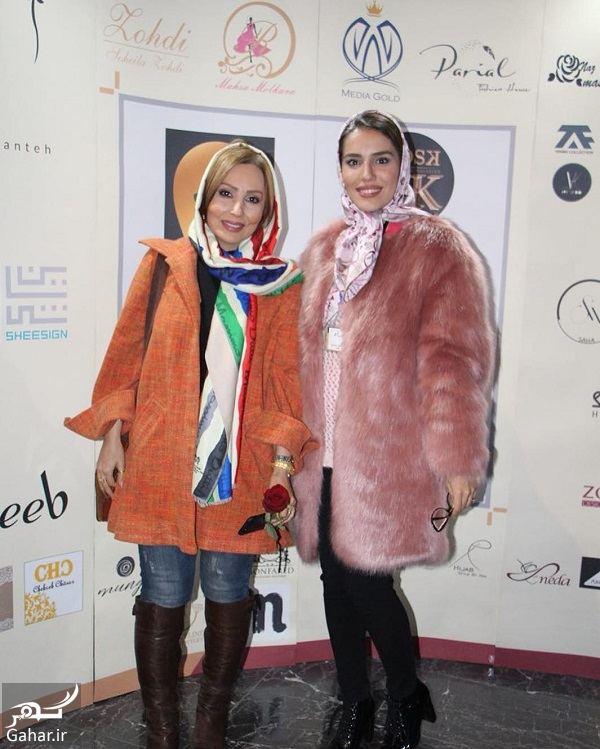 176913 Gahar ir استایل متفاوت پرستو صالحی در افتتاحیه رويداد طراحان برتر لباس در سال 96 / تصاویر