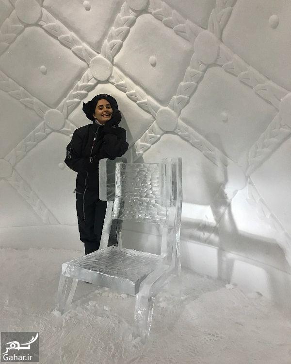 262208 Gahar ir عکسهای جدید و دیدنی الناز شاکردوست در هتل یخی سوئد